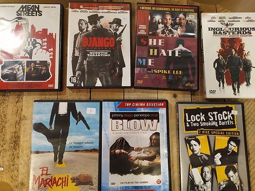 Lot DVDs indispensables