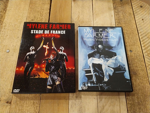 Lot DVDs Mylène Farmer