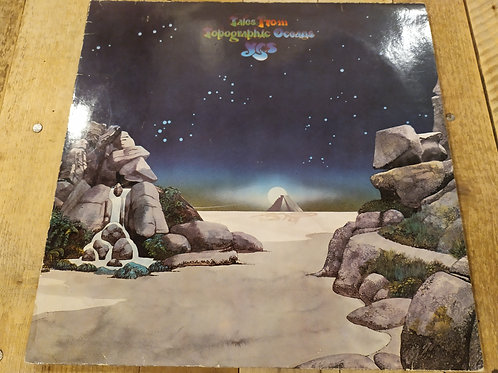 LP Yes - tales from topographic oceans