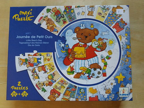 . Puzzle journée de petit ours
