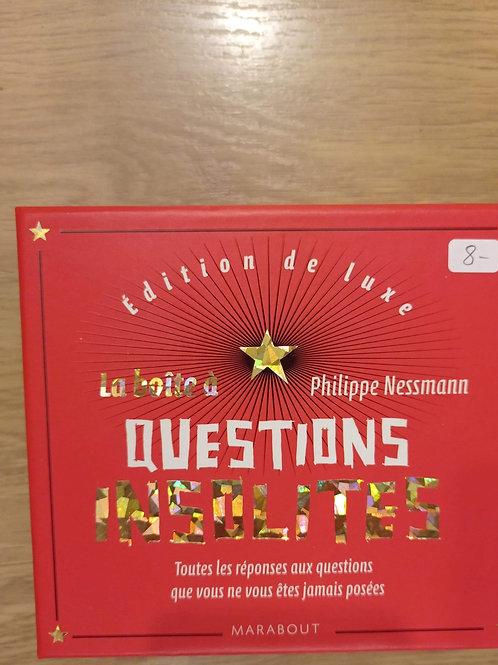 « La Boîte à Questions insolites »