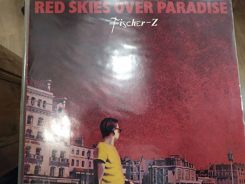 LP Fisher z - Red skies over paradise