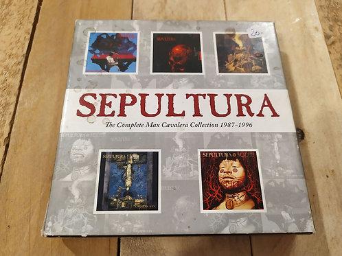 Coffret albums Max Cavalera 1987-1996