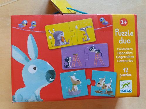 . Puzzle 12x2 pièces