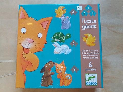 . Puzzle géant