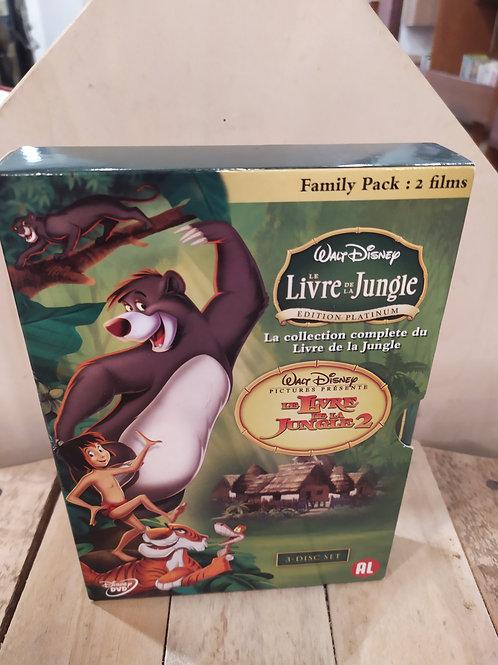 Coffret livre de la jungle collection complete