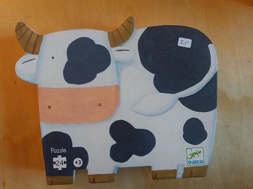 . Puzzle vache
