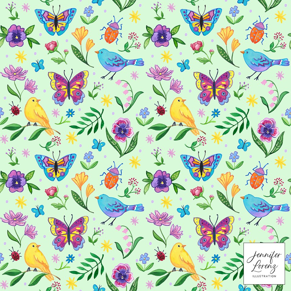 Spring is Here! Pattern