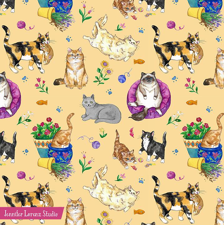 Summer Kitties