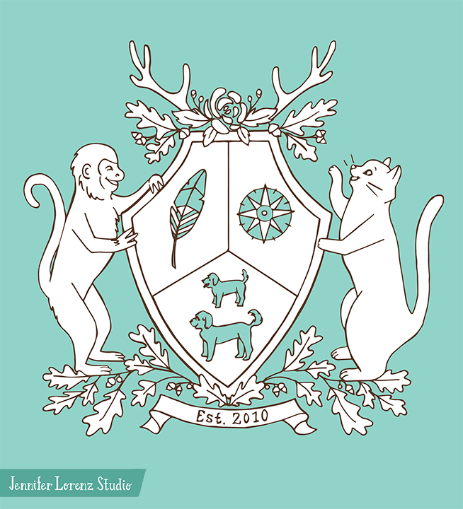 Wedding Crest