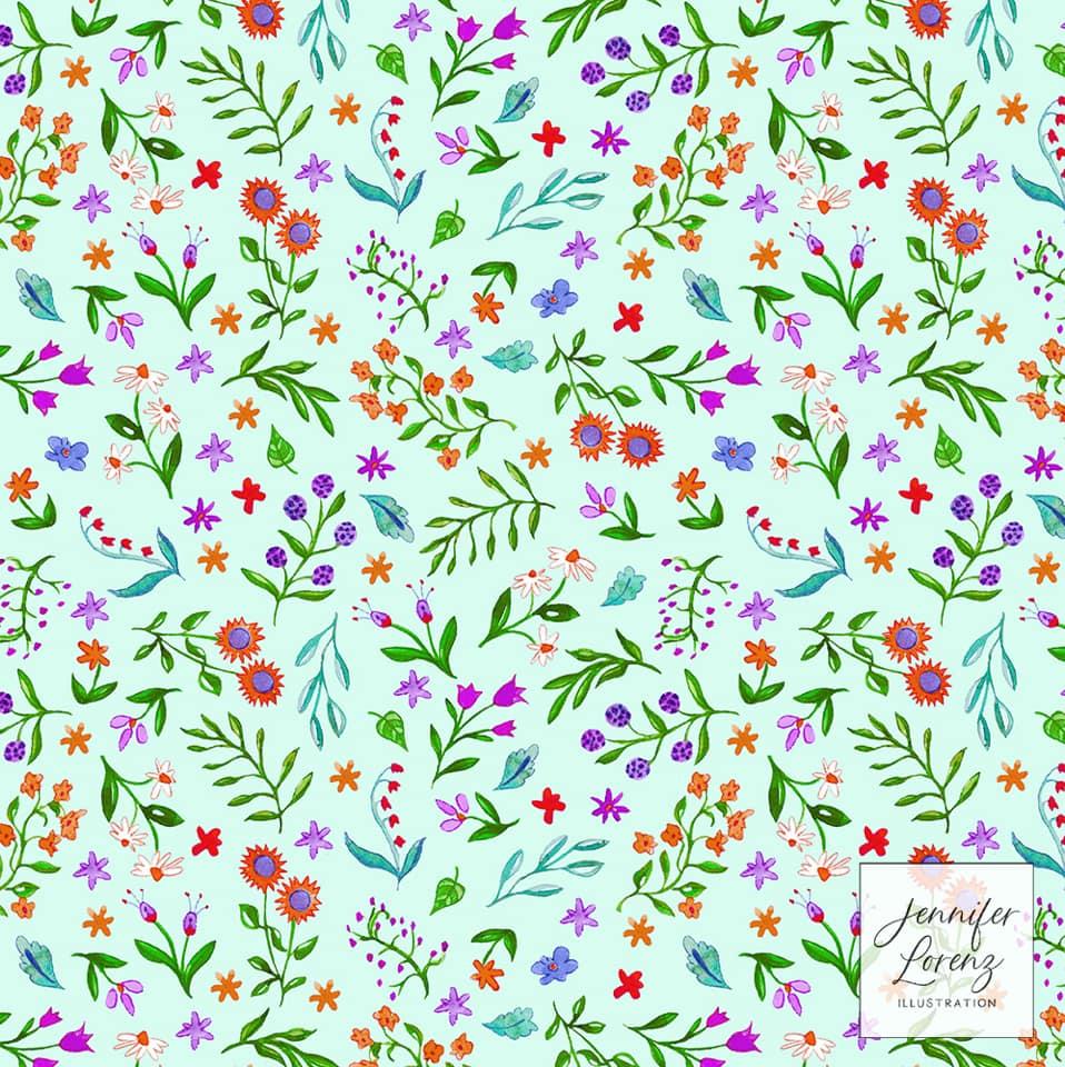 Tossed Florals