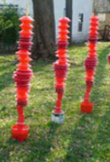 Susan Champeny | Worcester, MA Red Totems