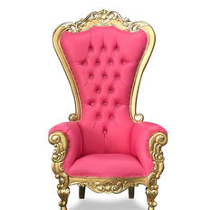 Pink/Gold Throne