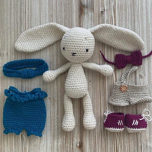 VANILLA le lapin  au crochet