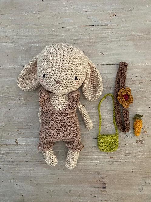 lapin en crochet MOLLY