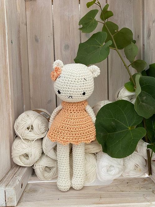 Crochet amigurumi teddy bear, le cadeau anniversaire,cadeau de naissance ou anni