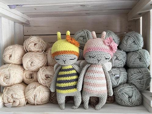 amigurumi abeille, une abeille en crochet, le jouet personnalisé pour nouveau-né