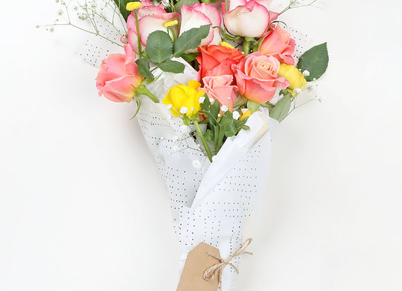 distinctive roses bouquet