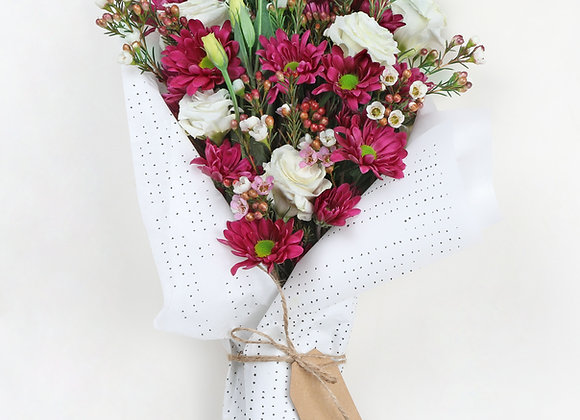 Unique flower bouquet