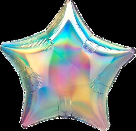 Iridescent Pastel Star