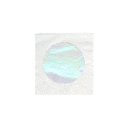 Cocktail Napkins- Iridescent Dot