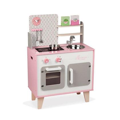 Macaroon Pink Kitchen