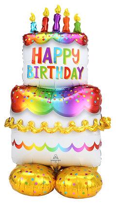 HBD Cake Airloonz