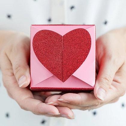 Valentine Heart Favor Boxes