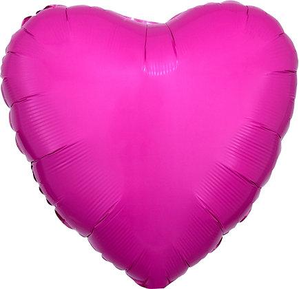 Heart Bubble Gum Pink