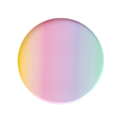 7in Plates - Ombre