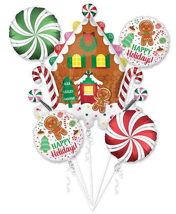 Gingerbread Holiday Bouquet