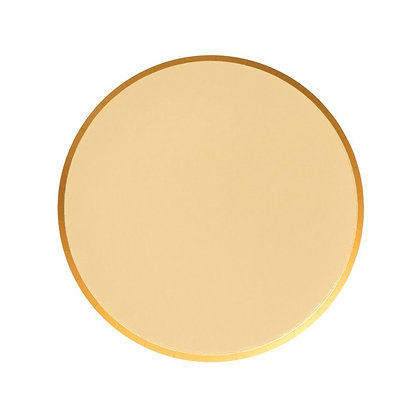 7in Plates - Gold