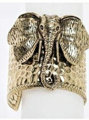Elephant Cuff Bracelet