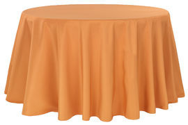 Round-Polyester-Tablecloth-Burnt-Orange.