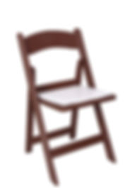 Coffee-Color-Resin-Folding-Chair-with-Wh