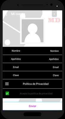 App Mision Domino Registro Smartphone