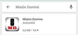 App Misión Dominó icono descarga