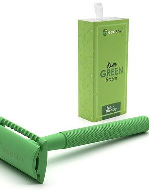 Kiwi Green Safety Razor