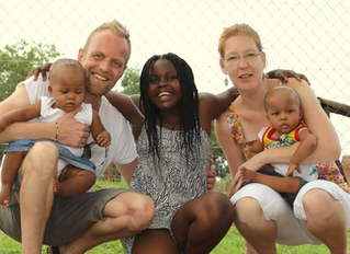 'In Zuid-Afrika sloten wij voor altijd onze tweeling in onze armen'