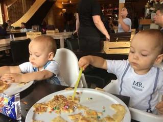 Uiteten met een tweeling