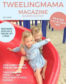 Tweelingmama Magazine zomer 2020 cover d