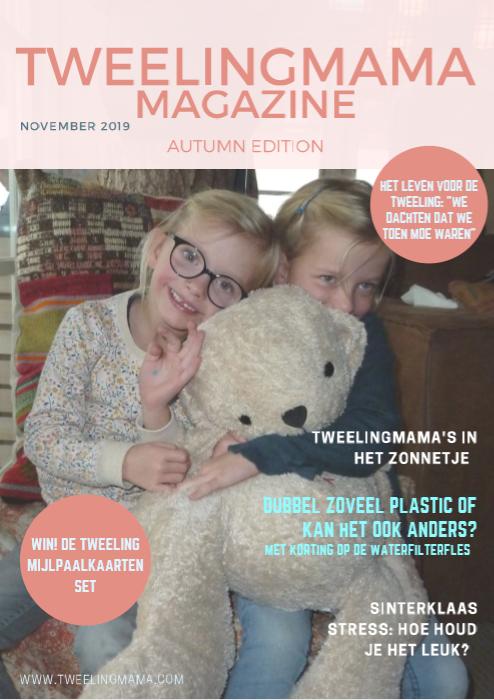 Tweelingmama Magazine - herfst 2019