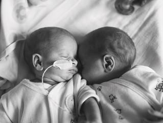 Een bezoek aan het ziekenhuis waar onze tweeling is geboren: een dubbel gevoel!