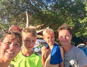 """""""Met onze tweeling vertrokken we naar Bonaire"""""""