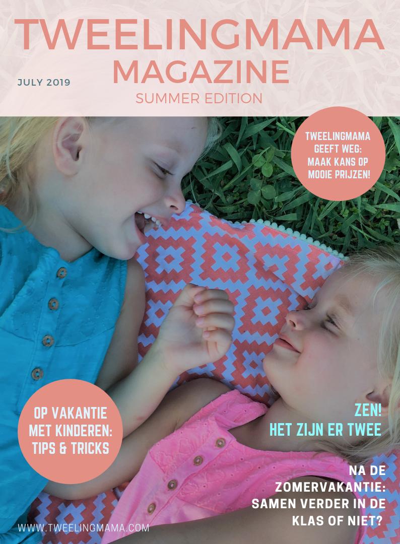 Tweelingmama Magazine - zomer 2019