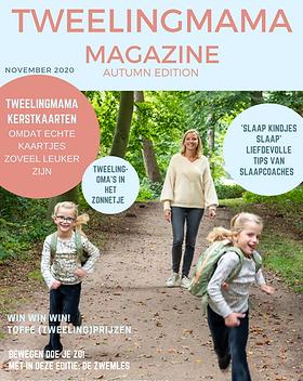 Tweelingmama Magazine najaar 2020 - cove