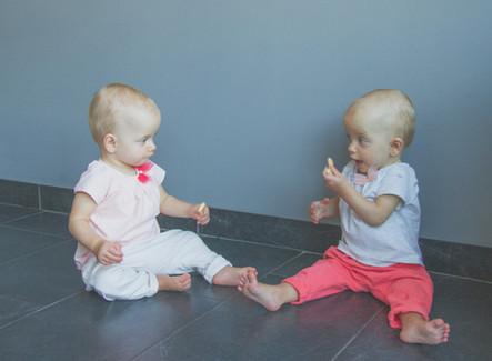 Een tweeling: identiek & uniek