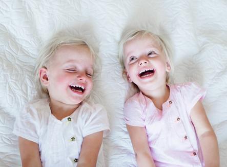 Fotoshoot van de tweeling: 'Herinneringen voor later, moet je nu maken.'