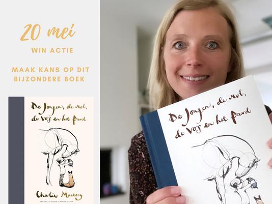 Winnaar boek 'De jongen, de mol, de vos en het paard