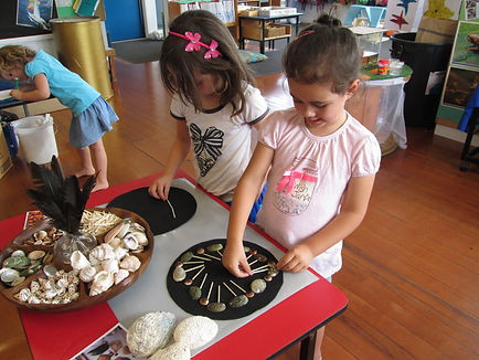 Making shell pictures